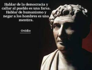 Ovidio democracia pueblo