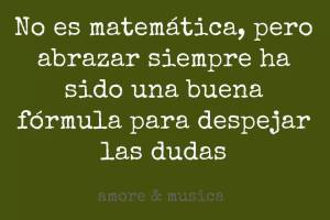 abrazos matematicos